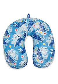 Microfiber Neck Pillow - Honu Floral