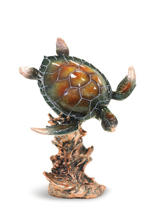 Marine Life Figurine, Diving Honu