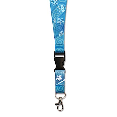 Lanyards Honu Swirl - Blue