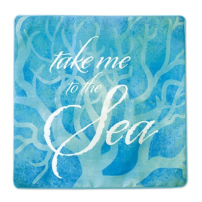 Coastal Take Me to the Sea Pillow Covers