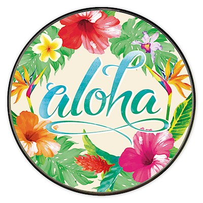 QI Wireless Charger 5W, Aloha Floral