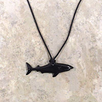 Adjustable Necklace, Horn Shark