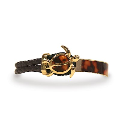 Leather Bracelets Honu