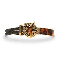 Leather Bracelet Starfish