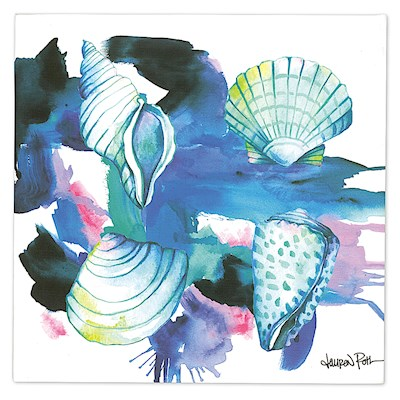 LRA Wall Art Canvas Print, Shells
