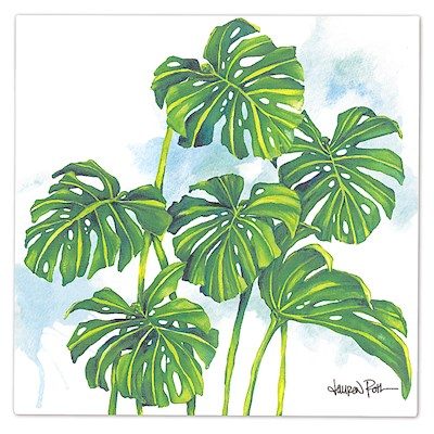 Lauren Roth Wall Art Canvas Print, Monstera Grove
