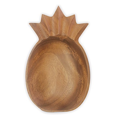 Medium Bowl - Pineapple Wood Serveware