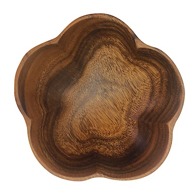 Small Bowl - Flower Wood Serveware