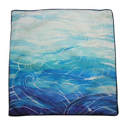 LAUREN ROTH PILLOW COVER - OCEAN DREAMS
