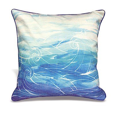 LAUREN ROTH PILLOW - OCEAN DREAM