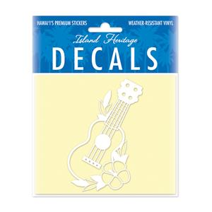 Decal Small Oblong, Ukulele White
