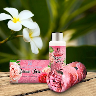Island Rose Island Bath & Body Mini Spa Gift Set