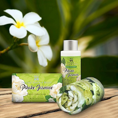 Pikake Jasmine Island Bath & Body Mini Spa Gift Set