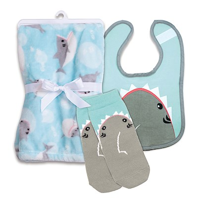 Baby Gift Set, Shark Bites!