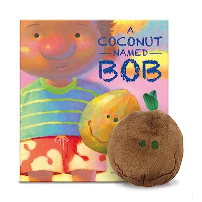 Book & Plush Set, Coconut