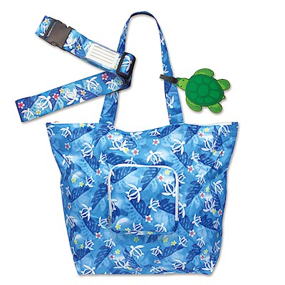 Luggage Accessories Set, Honu Floral