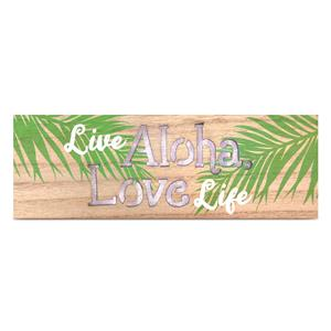 Light Box Rectangle, Live Aloha, Love Life