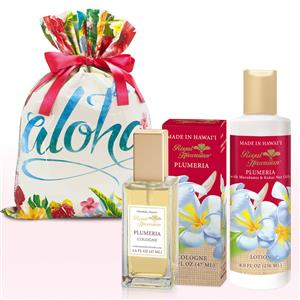 RH Plumeria Lotion & Cologne Gift Set