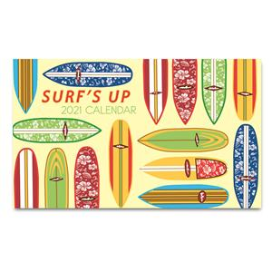 Surf's Up 2021 Pocket Calendar