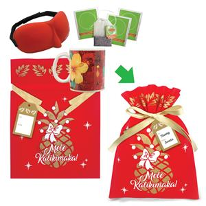 Hibiscus Aloha Mug & Eye Mask Gift Kits