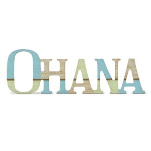 Wooden Laser-Cut Sign, Ohana