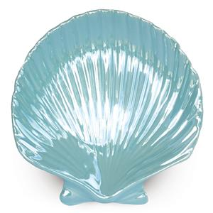 Porcelain Blue Shell Plate