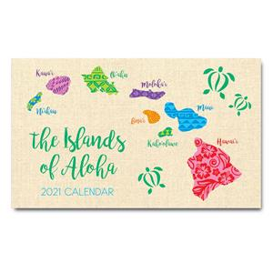 Islands of Aloha 2021 Pocket Calendar