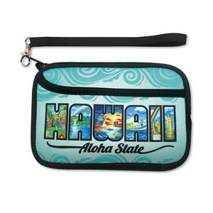 Neoprene Wristlet, Eddy Y - Hawaii the Aloha State