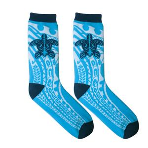 Island Socks 1-pr Men, Tribal Honu