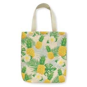 Woven Tote, Life Is Sweet (Light Turquoise Zipper)