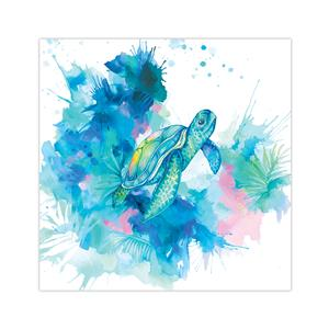 10 X 10 Lauren Roth Wall Art, Honu Dreams (Unsigned)