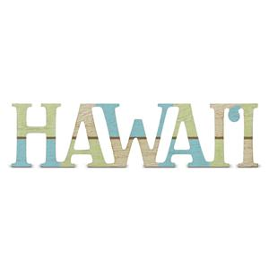 IH Laser-Cut 'Hawai'i' Wood Sign