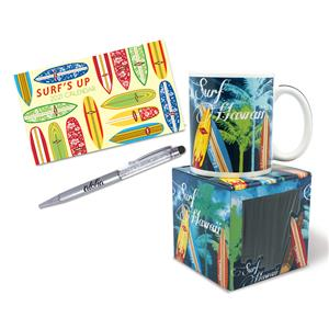 Surf's Up Mini Desk Gift Set