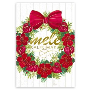 12-ct Deluxe Box, Mele Wreath