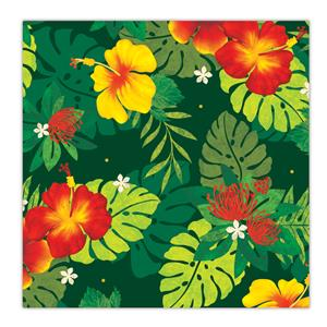 Rolled Gift Wrap, Floral Monstera