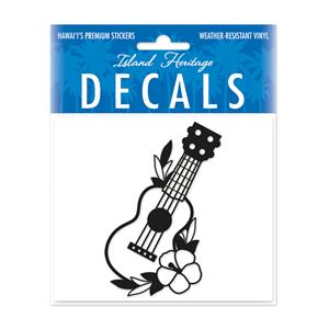 Decal Small Oblong, Ukulele Black