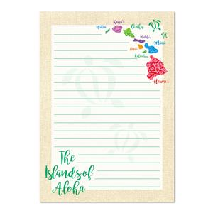 Islands of Aloha Notepad