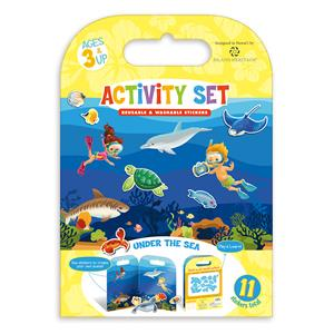 Reusable & Washable Sticker Activity Book - Under the Sea