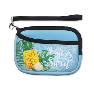 Neoprene Life is Sweet Wristlet