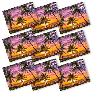 'Sunsets of Hawaii' 2021 Trade Calendars - Deals by The Case