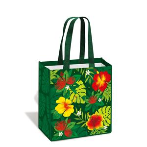 Island Tote, Floral Monstera
